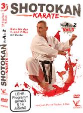 Shotokan Karate von A bis Z Vol.3 DVD Kata für 1.& 2.Dan Jean Pierre Fischer