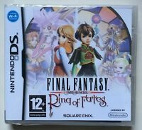 Final Fantasy Ring of Fates (Nintendo DS) Factory Sealed PAL REGION Rare NEW