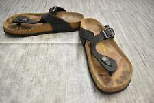 Birkenstock Gizeh Sandal 0043691 Regular Fit Unisex M(3) W(5) Black