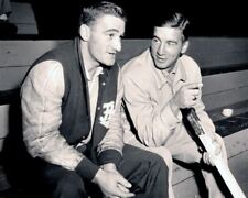 Marcel Bonin, Ted Lindsay Detroit Red Wings 8x10 Photo