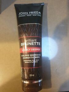 John Frieda Brilliant Brunette Colour Deepening Conditioner 250ml BRAND NEW