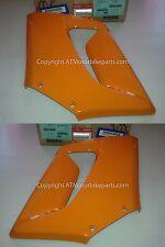 Honda CBR125 R Front Side Fairing Cowl Panel Left Right Set Orange 2004-2007