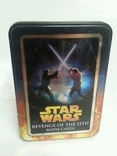 STAR WARS - Revenge Of The Sith Episode III Trading Cards Collector's Tin 2005