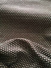 BRUNSCHWIG & FILS chenille cotton rayon texture brown new knit back 2+ yards
