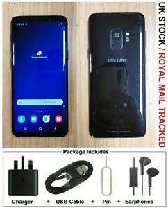 Samsung Galaxy S9 SM-G960 - 64GB - Midnight Black (Unlocked) Grade B+
