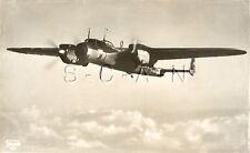 WWII German Large Luftwaffe RPPC- Airplane- Bomber- Dornier Do 17- In Flight