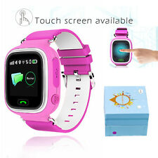 "1.22"" Kids Touch Wrist Smart Watch SOS Phone Call GPS LBS Safe Anti-Lost Tracker"
