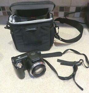 Olympus SP Series SP-610UZ 14.0MP Black Digital Camera & Weatherproof Case
