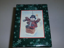 "Longaberger Exclusive 2002 ""Lang"" Ornament, ""Friendship Glows"". New!"