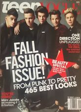 Teen Vogue magazine One Direction Fall fashion Marc Jacobs Beauty special issue