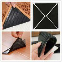 4x Rug Carpet Mat Grippers Non Slip Skid Reusable Washable Grips Hallway Runner