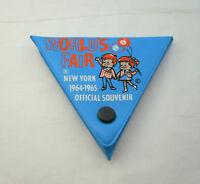 New York Worlds Fair Car Parking Pass Bumper Sticker Shield NOS New