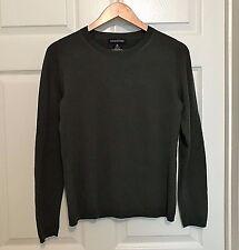 BANANA REPUBLIC Mens Sweater Crewneck Merino Wool Green Medium