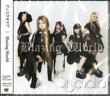 DISQUALIA-BLAZING WORLD-JAPAN CD D01