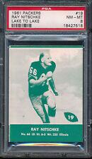1961 Lake to Lake Packers #19 Ray Nitschke PSA 8 (FB01)
