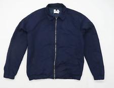 Topman Mens Size L Cotton Blue Lightweight Jacket