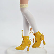 "Sherry Fashion Shoes Boots for BJD Delilah Noir Ellowyne Wilde 16""Tonner Doll"