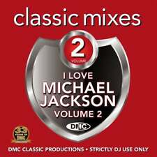 DMC Michael Jackson Vol 2 Megamixes & 2 Trackers Remixes Ft Paul McCartney DJ CD