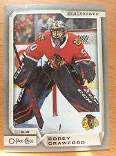 UPPER DECK OPC 2018-2019 SILVER BORDER COREY CRAWFORD CARD #180