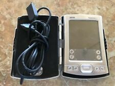 Palm One Tungsten E2 with steel case, charger, stylus & memory expansion card