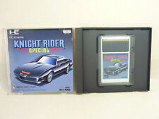 KNIGHT RIDER SPECIAL Item Ref/bbc PC-Engine Hu PCE Import Japan Video Game pe