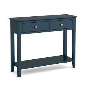 Westbury Blue Console Table / Modern Painted Hallway Unit