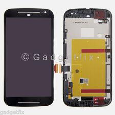 Motorola Moto G 2nd Gen XT1064 XT1068 LCD Display Touch Screen Digitizer + Frame