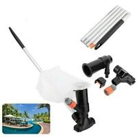 Portable Swimming Pool&Spa Pond Fountain Vacuum Brush Cleaner Cleaning Tool NEW