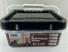"""GRK - #10 x 3-1/8"""" R4 Multi Purpose Framing Screw - Bulk Box of 630 Screws"""
