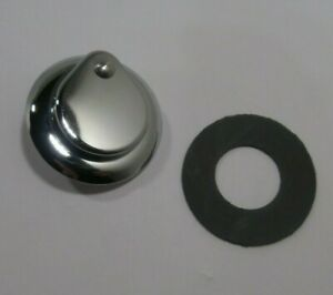 ENGINE LID LOCK COVER W/ SEAL CHROME 1955-1965 VOLKSWAGEN T2 BUS