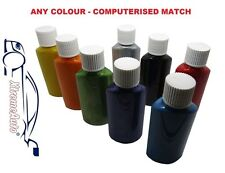 Touch Up Paint MIXED COLOUR CODE RED BLUE GREEN YELLOW BLACK GREY SILVER PAINT