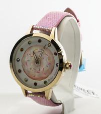 Betsey Johnson Women's Doughnut Gold Tone Watch BJ00293-16BX, New