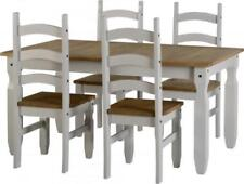 Pine Dining Tables Sets with 4 Seats
