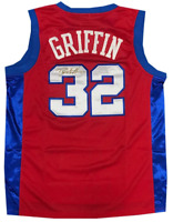 Blake Griffin Autographed Authentic Los Angeles Clippers Red Jersey (OAI)