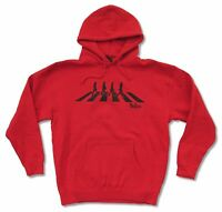 Beatles Abbey Road Red Sweatshirt Hoodie New Official