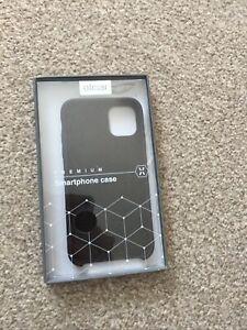 Olixar Premium Smart Phone Case For Iphone 11 Soft Silicone Pastel Black