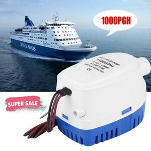 1100GPH 12V Marine pompe de cale Submersible flotteur Switch Auto Yacht bateau