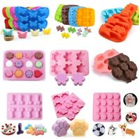 Silicone Fondant Cake Decor Mold Candy Chocolate Cookies Baking Mold Soap Mould