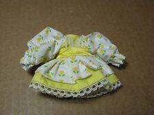 Vintage Strawberry Shortcake Berrykin DRESS ONLY Mint Tulip Original Part SSC
