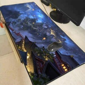 Mouse Pad Fantasy Speed Large Lock Edge Keyboard Desk Mat Big Desk Mousepad Game
