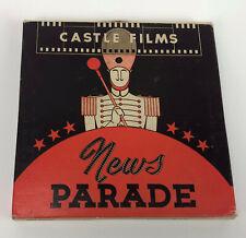 WWII CASTLE FILMS NEWS PARADE 16mm FILM #149 YANKS INVADE MARSHALLS