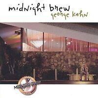 New Midnight Brew by George Kahn (CD, Nov-2002, Playing Records)