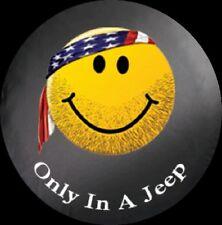 "Jeep Wrangler ""JEEP"" Spare Tire Cover 31 Inch Mopar OEM"