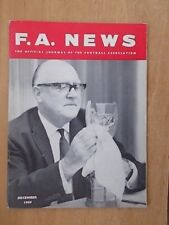 F.A. NEWS JOURNAL OF THE FOOTBALL ASSOCIATION DECEMBER 1969 POLISH FOR WORLD CUP