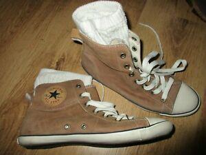 Converse, Schuhe, Gr.37, 5, Echtleder, TOP!