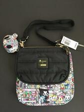 Tokidoki x LeSportsac Tokidopoli Duet Purse Handbag Two Purses in ONE NWT
