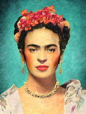 Frida Kahlo -  CANVAS or PRINT WALL ART