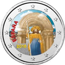 Spanien 2 Euro 2018 Santiago de Compostela Gedenkmünze bankfrisch in Farbe