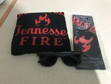 JACK DANIELS TENNESSEE FIRE MEDIUM  T SHIRT, BANDANA & SUNGLASSES BUNDLE