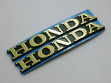Motorcycle 3D Fuel Tank Fairing Emblem Badge Decal sticker 8cm Gold for Honda